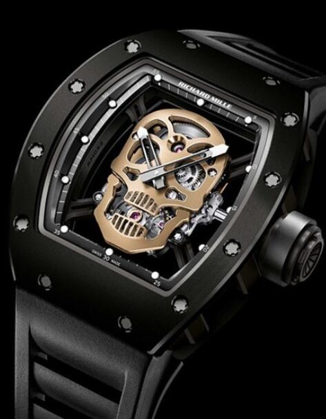 Richard Mille Replica Watch RM 52-01 Skull Tourbillon Nano Ceramic