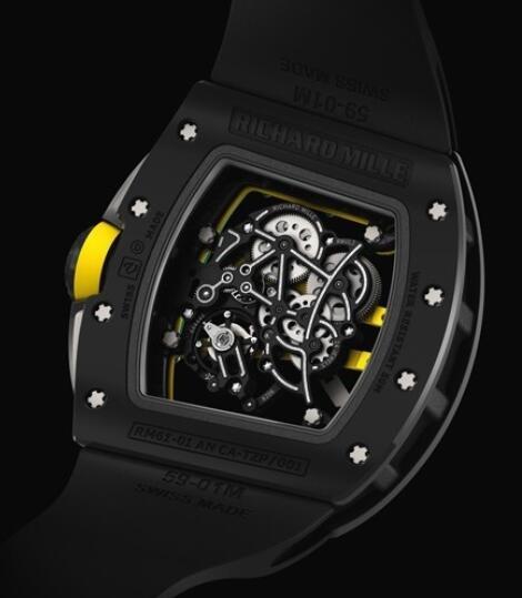 Richard Mille Replica Watch Black RM 61-01 Yohan Blake