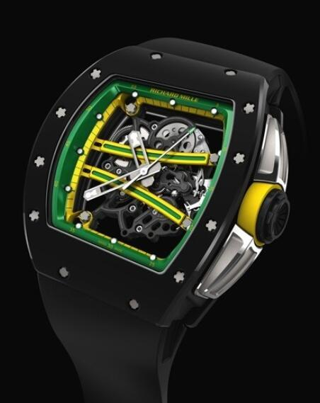 Richard Mille Replica Watch Black RM 61-01 Yohan Blake