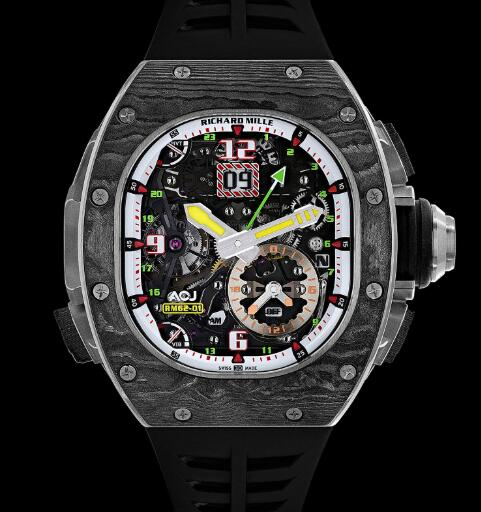 Richard Mille RM 62-01 Tourbillon Vibrating Alarm ACJ Watch Replica