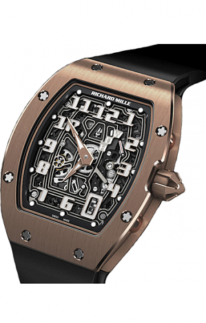 Richard Mille Replica Watch RM 067 Automatic Extra Flat RM 067-01 RG