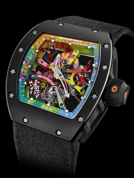 Richard Mille Replica Watch RM 68-01 Tourbillon Cyril Kongo