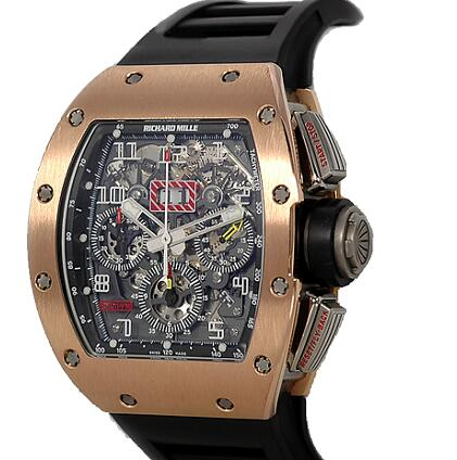 Richard Mille Replica Watch RM-011 Felipe Massa Gold MON