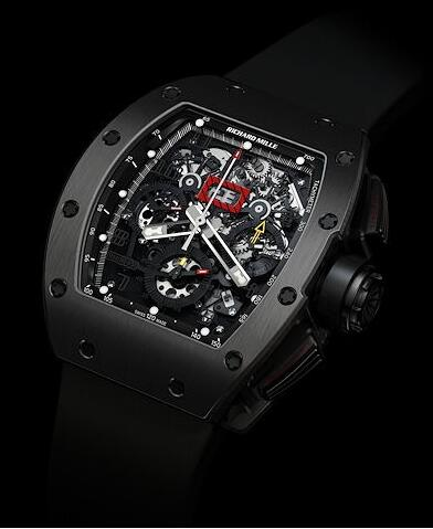 Richard Mille Replica Watch RM011 Beverly Hills Ti Black