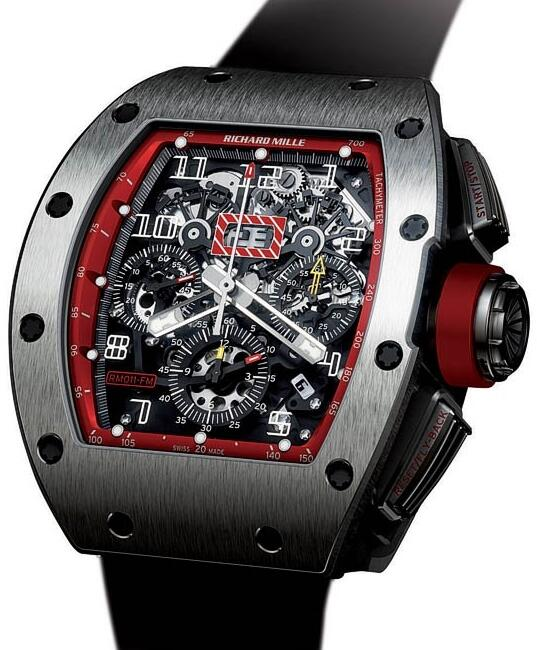 Richard Mille Replica Watch RM011 Felipe Massa Red