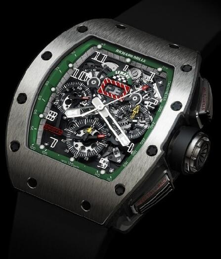 Richard Mille Replica Watch RM011 Le Mans Classic Green