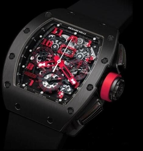 Richard Mille Replica Watch RM011 Marcus Titanium DLC