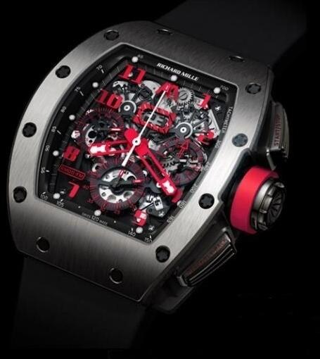 Richard Mille Replica Watch RM011 Marcus White Gold