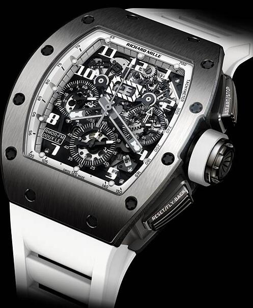 Richard Mille Replica Watch RM011 White Night Doux