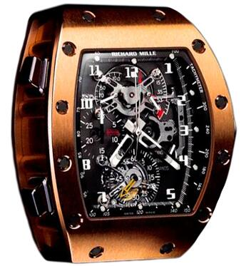 Richard Mille RM 008-1 Rose Gold Watch Replica