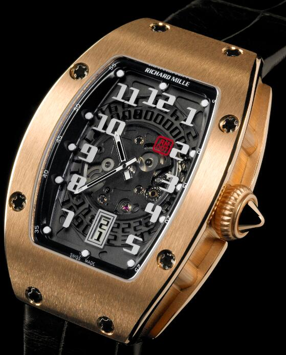 Richard Mille Replica Watch RM 007 Lady automatic Red Gold