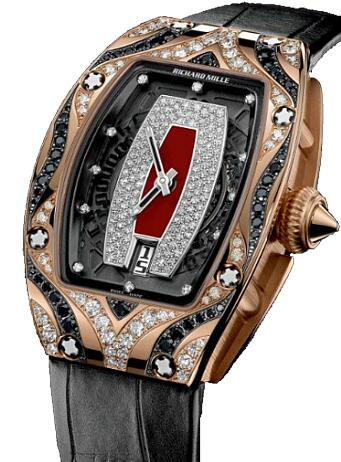 Richard Mille Replica Watch RM 007 Rose Gold