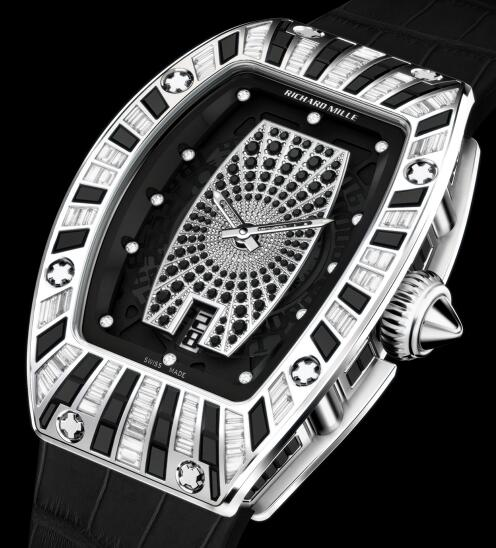 Richard Mille Replica Watch RM 007 white gold diamond