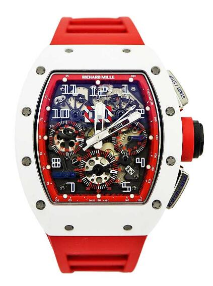 Best Richard Mille RM 011 Felipe Massa Ceramic and Titanium Replica Watch