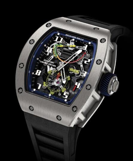 Richard Mille RM 036 Tourbillon G-Sensor - Jean Todt Replica Watch