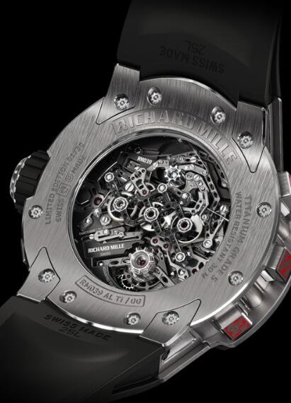 Richard Mille RM 039 Tourbillon Aviation E6-B Flyback Chronograph Replica Watch