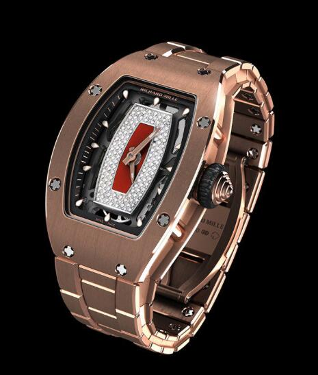 Richard Mille Replica Watch RM 07-01 Gold Bracelet