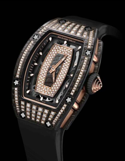 Richard Mille Replica Watch RM 07-01 Ladies Gem-Set NTPT