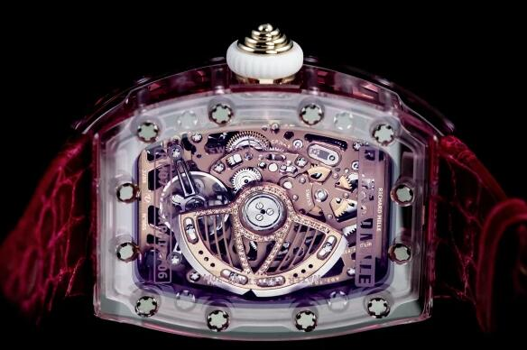 Richard Mille Replica Watch RM 07-02 Automatic Pink Sapphire