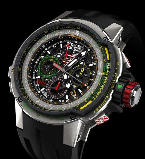 Richard Mille RM 39-01 Automatic Aviation E6-B Flyback Chronograph Replica Watch