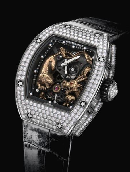 Richard Mille RM 51-01 Tourbillon Tigre et Dragon - Michelle Yeoh Replica Watch