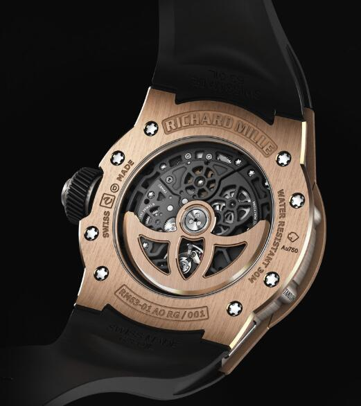 Richard Mille RM 63-01 Dizzy Hands Replica Watch