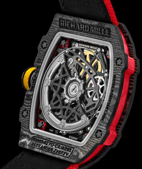 Richard Mille RM 67-02 Automatic Alexander Zverev Replica Watch