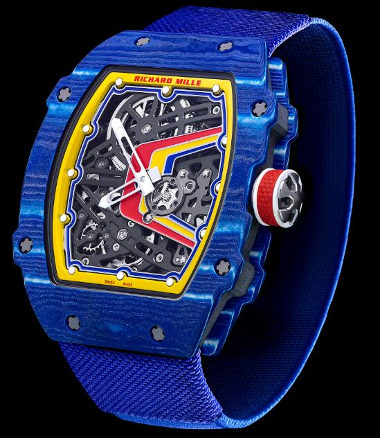 Richard Mille RM 67-02 Automatic Fernando Alonso Replica Watch