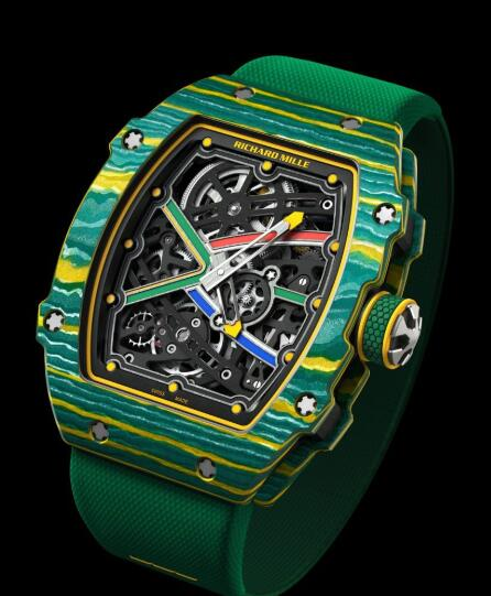 Richard Mille RM 67-02 Sprint Wayde Van Niekerk Replica Watch