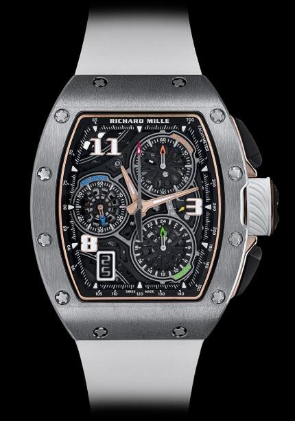 Best Richard Mille RM 72-01 Lifestyle In-House Chronograph Titanium Replica Watch