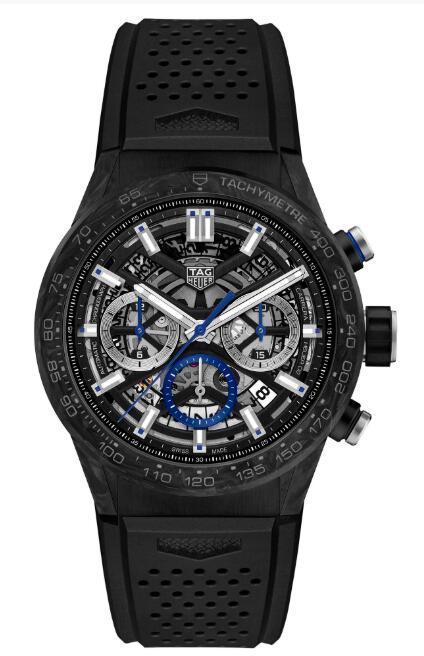 Tag Heuer Carrera Heuer 02 Carbon Replica Watch CBG2017.FT6143