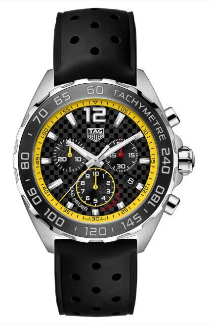 Tag Heuer Formula 1 Quartz 43mm CAZ101AC.FT8024 Replica Watch