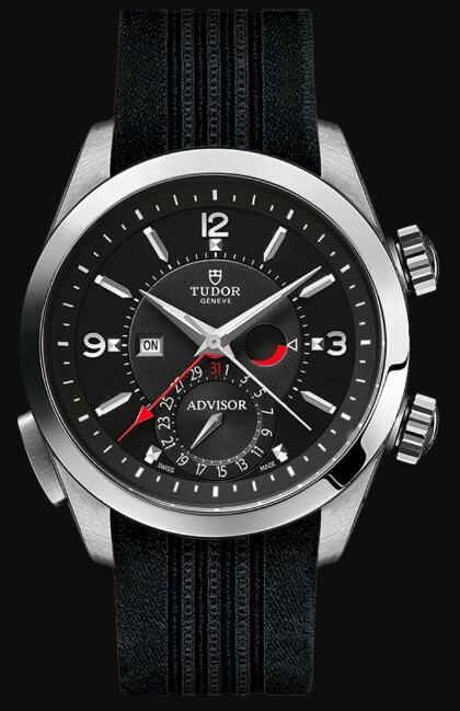 Tudor HERITAGE ADVISOR 79620TN silk Strap Replica Watch