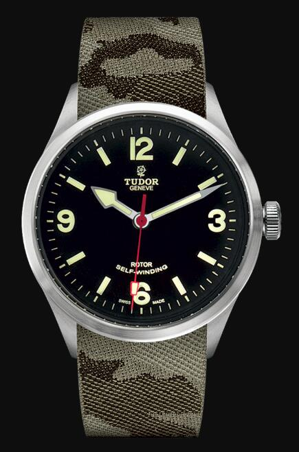 Tudor HERITAGE RANGER 79910 Camouflage fabric strap Replica Watch