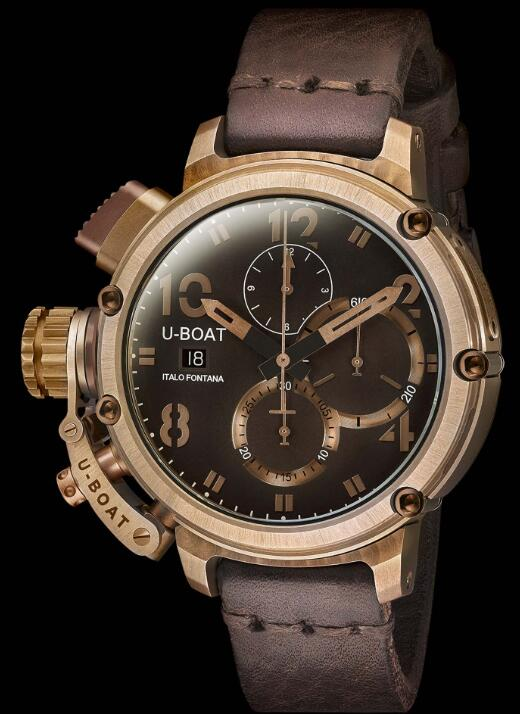 U-BOAT CHIMERA 46 BRONZE CHRONO 7474 Replica Watch