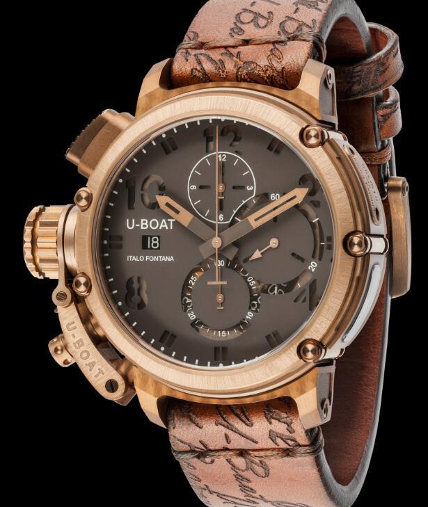 U-BOAT CHIMERA 46 BRONZE 8083 Replica Watch