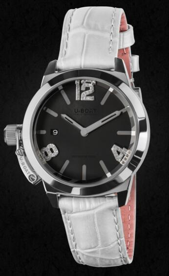 U-BOAT CLASSICO 38 Black Mother of pearl 8482 Replica Watch