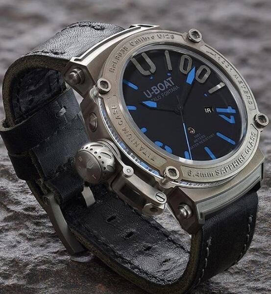 U-BOAT CLASSICO 47 1001 SS BLU 8038 Replica Watch