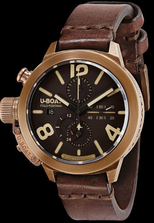 U-BOAT CLASSICO 45 BRONZO CA BR 8063 Replica Watch