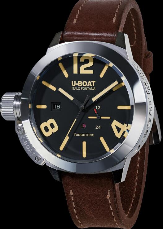 U-BOAT CLASSICO 50 TUNGSTENO MOVELOCK 8073 Replica Watch