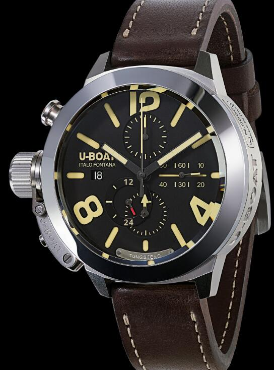 U-BOAT CLASSICO 50 TUNGSTENO CAS 1 MOVELOCK 8077 Replica Watch