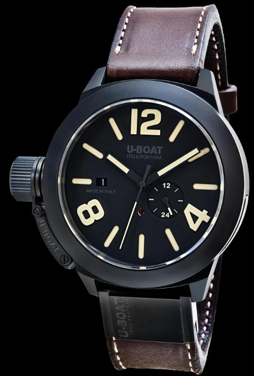 U-BOAT CLASSICO 48 BK CER MATT CASE 8107 Replica Watch