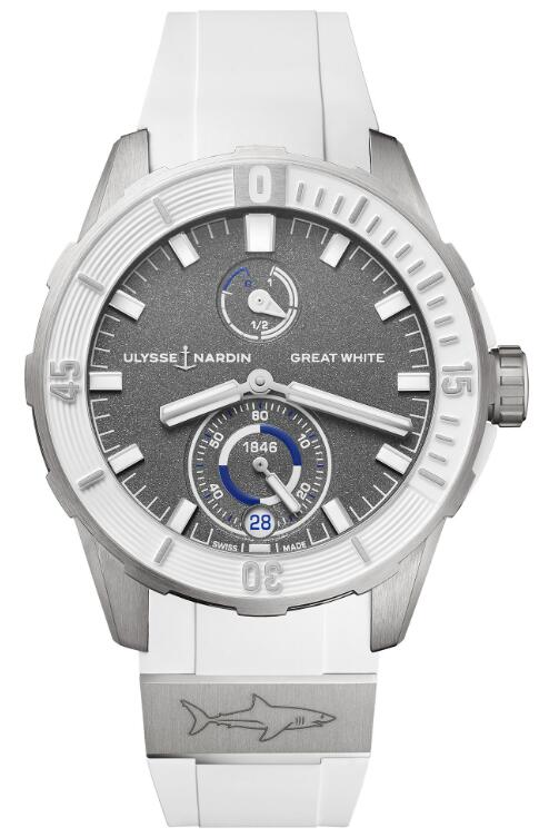 Ulysse Nardin Diver Chronometer Great White 1183-170LE-3/90-GW Replica Watch