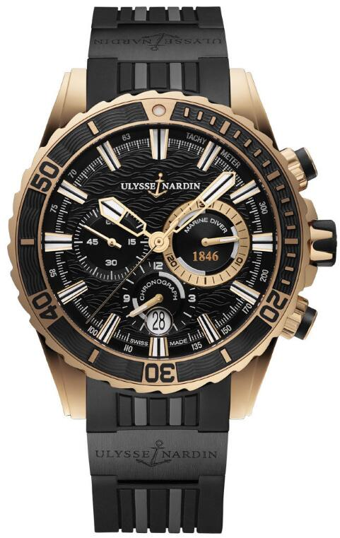 Ulysse Nardin Diver Chronograph 1502-151-3C/92 Replica Watch