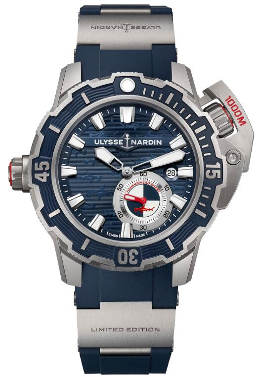 Ulysse Nardin Diver Deep Dive 3203-500LE-3/93-HAMMER Replica Watch
