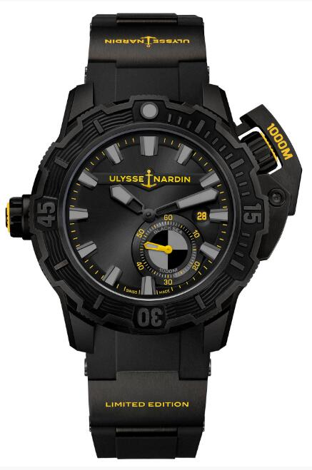Ulysse Nardin Diver Deep Dive One More Wave 3203-500LE-3/BLACK-OMW Replica Watch