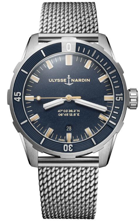 Ulysse Nardin Diver 42 mm 8163-175-7MIL/93 Replica Watch
