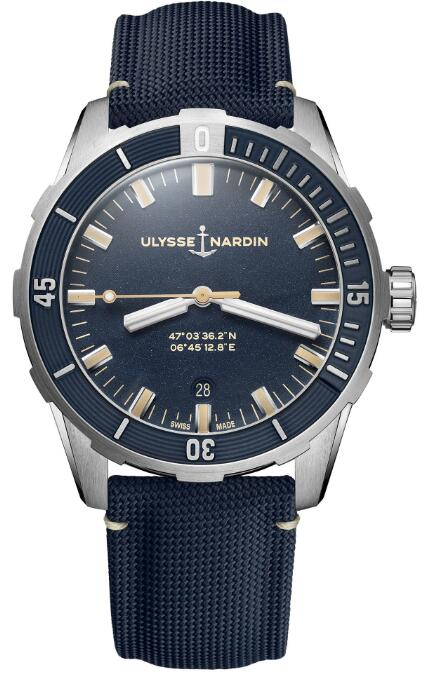 Ulysse Nardin Diver 42 mm 8163-175/93 Replica Watch