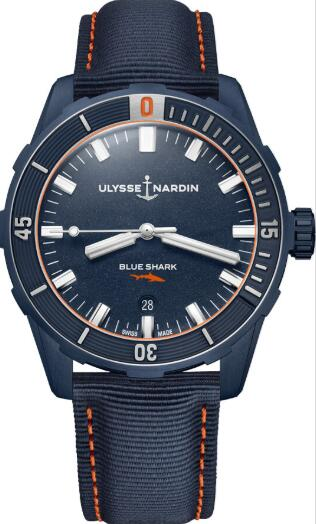 Ulysse Nardin Diver Blue Shark 8163-175LE/93-BLUESHARK Replica Watch