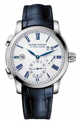 Ulysse Nardin Dual Time Enamel Boutique 3243-132/E0 Replica Watch